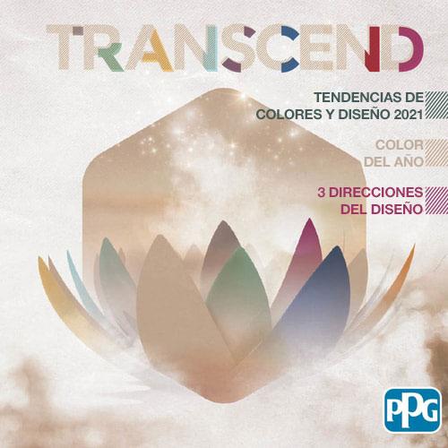 Tendencias de color 2021: Transcend